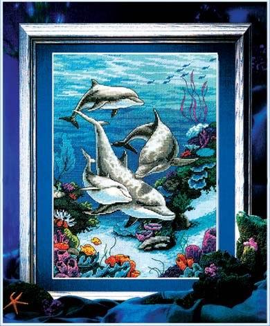海底世界 - 61535 - ks十字绣